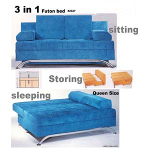 3 In 1 Sofa Futon 2327 (IEM)