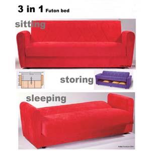 3 In 1 Sofa Futon 2328 (IEM)