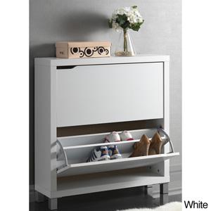 Marsha Modern Double Shoe Cabinet 15039138(OFS)