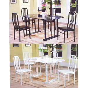 Marble Look 5-Pcs Dinette Set 260_(PJ)
