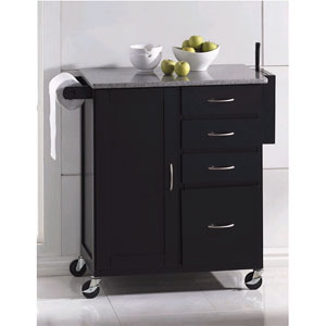 Evans Granite Top Kitchen Cart 2700 (A)