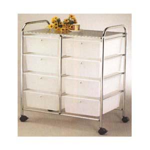 White Plastic Drawer 2819 (PJ)