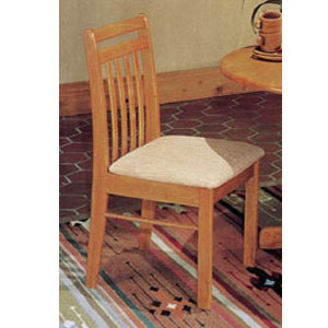 Oak Finish Splat Back Chair 2976 (A)