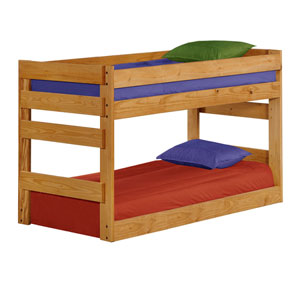 Solid Wood Twin/Twin Bottom Bunk Bed 3003B(PC)
