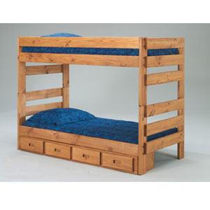 Twin/Twin Stackable Bunk Bed 3012(PCu)