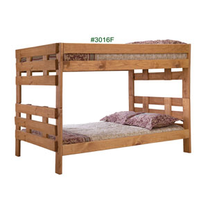 Full/Full Stackable Bunk Bed 3016F(PC)