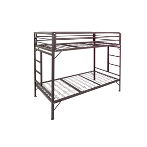 Institutional Bunk Bed Summer Camp Metal Bunk Bed 3 Ns Dd Sc Wh