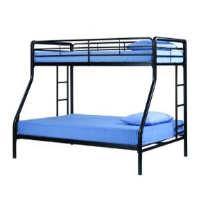 Dorel Twin Over Full Metal Bunk Bed 3136196WFS