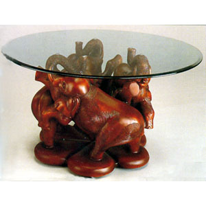 Lucky Elephant Cocktail Table 3150-00 (WD)