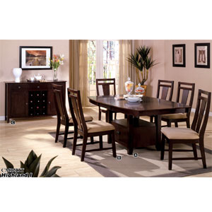 Highland I Dining Set CM3211T/SC (IEM)
