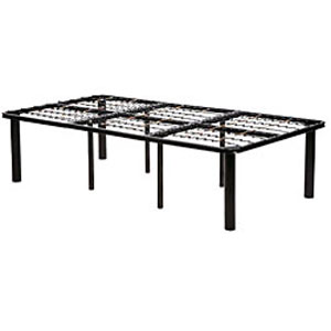Black Steel Mattress Bed Frame Extra Long (OFS)