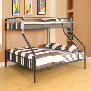 twin extra long queen bunk bed caius twin xl over queen bunk bed 37605 afs. Black Bedroom Furniture Sets. Home Design Ideas
