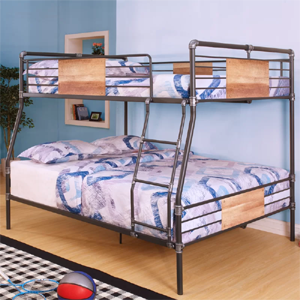 Twin Extra Long Queen Bunk Bed Twin Xl Over Queen Bunk Bed 400 Lbs