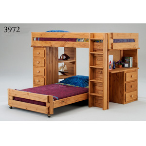 Twin/Twin Student Loft Bed 397_ (PC)