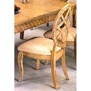 Antique White Finish Side Chair 4051 (CO)