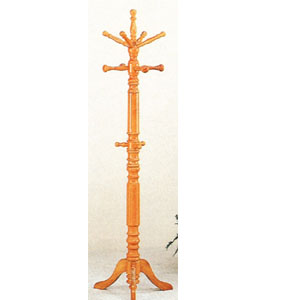 Oak Finish Coat Rack 4059 (COFS16)
