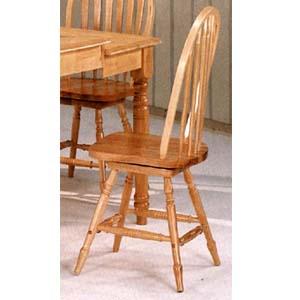 Arrow Back Swivel Windsor Chair CB2005N(BE)