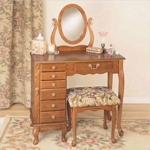 Nostalgic Oak Vanity Set 407 (PW)