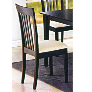 Black Finish Chair 4109 (PJ)