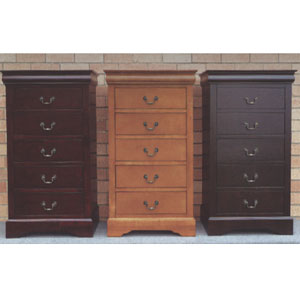 Solid Wood 5-Drawer Dresser 4535(ML)