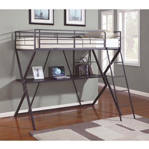 Workstation Loft Bed 460094(CO)
