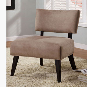 Oversized Light Brown Accent Chair 460502 (CO)