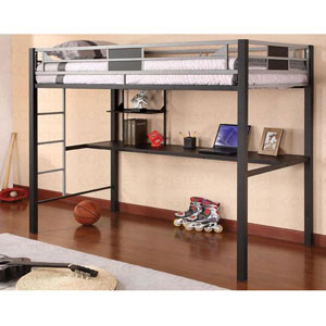 Twin Workstation Loft Bed 460197 (CO)