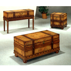 Old World Globe Design Coffee Table  4977 (CO)