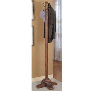 Woodbury Mahogany Coat Rack 520-274 (PW)
