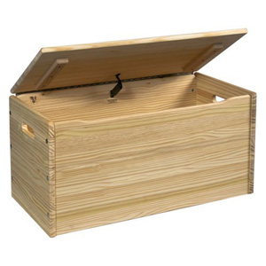 Solid Wood Unfinished Storage Chest 58UN(HYNFS119)