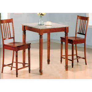 3-Pc Bar Set In Walnut Finish 5978/5979 (CO)