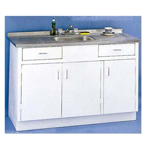 Sink wall cabinets 60 sink metal base without drawer for Base kitchen cabinets without drawers