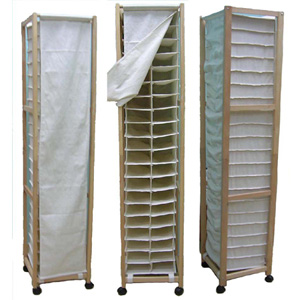 40 Pair Shoe Roller Closet Organizer SO40(AZFS)