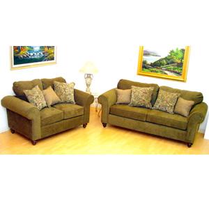 2-Piece Sofa And Loveseat Set 62002 (IEM)
