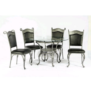 5-Pc Dinette Set 6246-T/SC (WD)