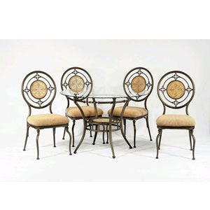 Talimore Dining Set 6249T/SC (WD)