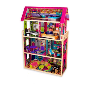 Glamour Dollhouse With Lights and Sound 65055 (KK)