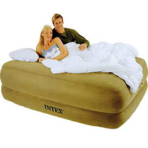 Memory Foam Queen Size Air Bed with Remote 66955/6(EAM)