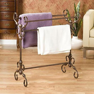 Antique Bronze Finish Quilt and Blanket Rack 6884(OFS)