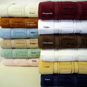 6-Pc Striped Egyptian Cotton Towel Set (RPT)