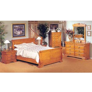 Queen/Eastern King 5-Piece Bedroom Set 7030_ (IEM)