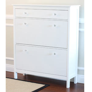 Shoe Cabinet with Storage Drawer and 2 Comp 15344721(OFS)