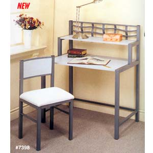 Wave Collection Desk And Chair  Set 7398 (CO)