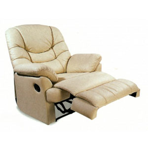 Recliner chairs and ottomans 100 leather multi position for Bellagio 100 leather chaise