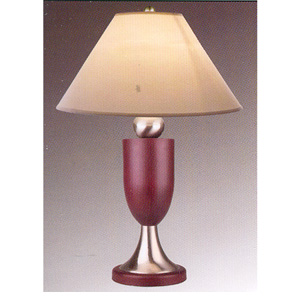 Wood And Metal Table Lamp 759 (WD)