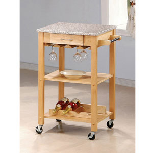 Kitchen Cart in Natural 7639(CO)