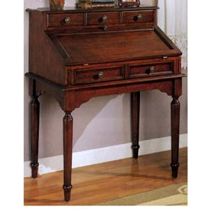 Roll Top Secretary Desks Solid Wood Secretary Desk 800371