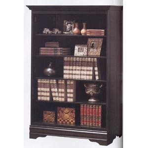 Black Finish Bookcase 800433 (CO)
