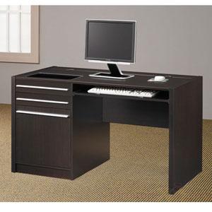 Contemporary Writing Desk w. Power Strip 800702 (CO)