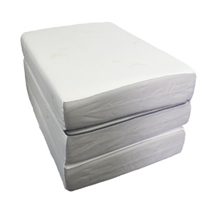 Folding Mattress Ultra Soft Extra Long Memory Foam Tri Fold Azfs Nationalfurnishing Com
